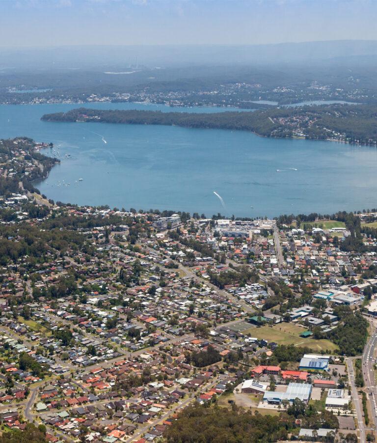 Lake Macquarie from Warners Bay Foreshore